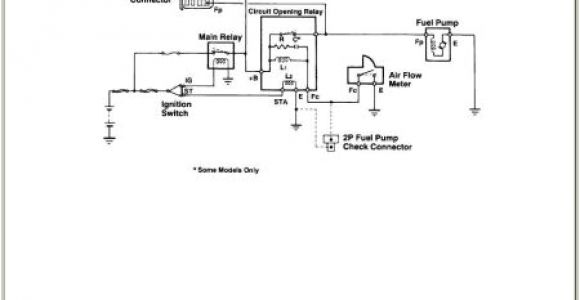 1994 toyota Pickup Fuel Pump Wiring Diagram 1994 toyota Truck Wiring Diagram Wiring Diagram Centre