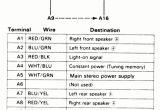 1996 Honda Accord Radio Wiring Diagram 1993 Honda Accord Speaker Wiring Electrical Schematic Wiring Diagram