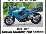 1996 Suzuki Katana 600 Wiring Diagram Suzuki Gsx600 750 Katana 1988 1997 Service Manual by Cyclepedia