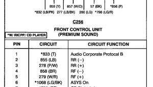 1998 ford Explorer Stereo Wiring Diagram ford Radio Wiring Schematic Wiring Diagram Name
