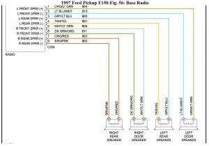 1998 ford F150 Pickup Truck Car Radio Wiring Diagram 1998 ford F150 Wiring Wiring Diagram Article Review