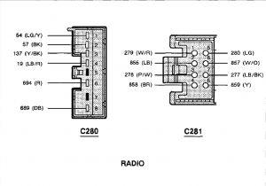 1998 ford F150 Pickup Truck Car Radio Wiring Diagram F150 Truck Diagram Wiring Diagrams