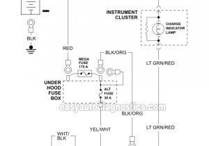 1999 ford Ranger Alternator Wiring Diagram Part 1 Alternator Circuit Diagram 1998 2001 3 0l ford