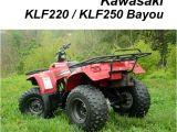 1999 Kawasaki Bayou 220 Wiring Diagram 1989 1992 Kawasaki Klf300 Bayou 4×4 atv Service Manual