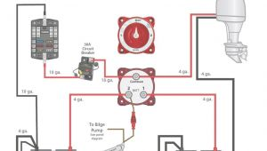 2 Battery Boat Wiring Diagram 2 Battery Boat Wiring Diagram Beautiful Dual Battery Switch Wiring