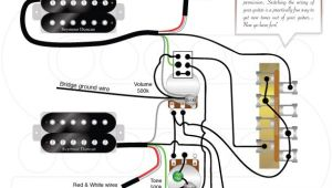 2 Humbucker 1 Volume 1 tone Wiring Diagram Wiring Diagrams Guitar Pickups Guitar Design Guitar Neck