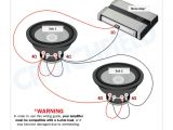 2 Ohm Sub Wiring Diagram Amplifier Wiring Diagrams How to Add An Amplifier to Your Car Audio