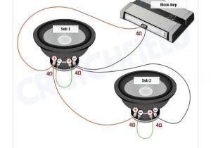 2 Ohm Sub Wiring Diagram Conexiones Subwoofer Doble Bobina 4 Ohms Serie Paralelo En Mono