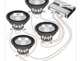 2 Ohm Sub Wiring Diagram Subwoofer Wiring Diagrams Subs Car Audio Car Audio Installation