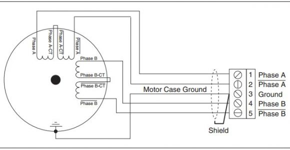 2 Phase Stepper Motor Wiring Diagram Difference Between 4 Wire 6 Wire and 8 Wire Stepper Motors