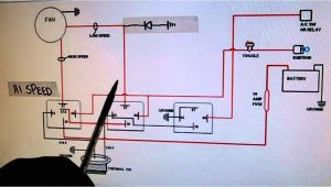 2 Speed Cooling Fan Wiring Diagram 2 Speed Electric Cooling Fan Wiring Diagram Youtube