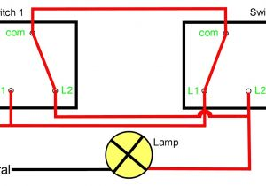 2 Way Switch Wiring Diagram Pdf Two Way Light Switching Explained Youtube