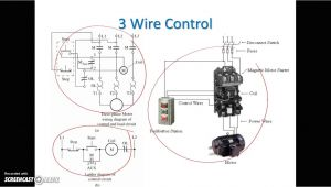 2 Wire Control Circuit Diagram 3 Wire Dc Motor Diagram Wiring Diagram Files