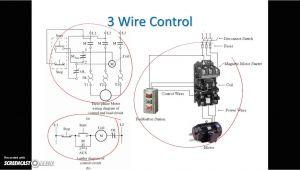 2 Wire Control Circuit Diagram 3 Wire Dc Motor Diagram Wiring Diagram Files