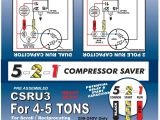 2 Wire Hard Start Kit Wiring Diagram 5 2 1 Csru2 Compressor Saver for 3 12 to 5 ton Units