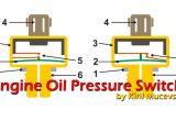 2 Wire Oil Pressure Switch Wiring Diagram Engine Oil Pressure Switch Operating Principles and Diagnostics