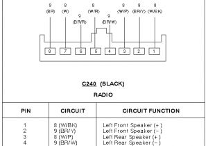 2000 ford Contour Radio Wiring Diagram 1996 ford Contour Wiring Harness Wiring Diagram Split