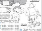 2001 ford F150 Wiring Harness Diagram ford F 250 Body Parts Diagram Wiring Diagram Data