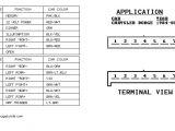 2002 Dodge Neon Radio Wiring Diagram Chrysler Radio Wiring Wiring Diagram Name