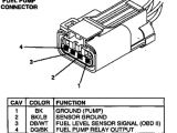2002 Dodge Ram 1500 Fuel Pump Wiring Diagram solved What are the Wires On Dodge Dakota Fuel Pump Fixya
