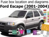 2002 ford Escape Radio Wiring Diagram Fuse Box Location and Diagrams ford Escape 2001 2004