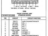 2002 ford Taurus Wiring Diagram 2001 ford Taurus Speaker Wiring Diagram Wiring Diagram List