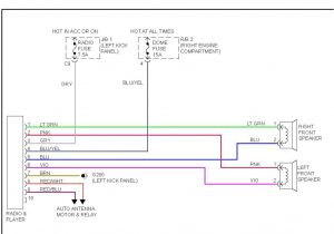 2003 toyota Sequoia Radio Wiring Diagram 1994 toyota Pickup Wiring Diagram Trailer Lights Blog