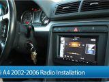 2004 Audi A4 B6 Radio Wiring Diagram Audi A4 S4 02 06 Radio Installation Pioneer Avic Z140bh