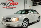 2004 Cadillac Cts Headlights 2004 Used Cadillac Deville Dts at Revved Motors Serving Addison Il