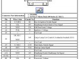 2005 Mazda Tribute Radio Wiring Diagram 2004 Mazda 3 Stereo Wiring Harness Wiring Diagram Centre