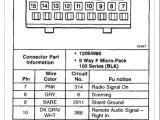 2005 Tahoe Stereo Wiring Diagram 2008 Chevrolet Trailblazer Radio Wiring Diagram Blog