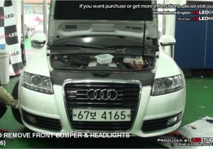 2006 Audi A4 Led Headlights Howto Remove Front Bumper Headlights Audi A6 I I E A6e I I E