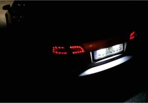 2006 Audi A4 Led Headlights Rear Led Lights Audi B7 Avant Dectane Youtube