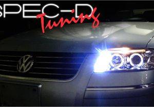 2006 Audi A4 Led Headlights Specdtuning Installation Video 2001 2005 Volkswagen Passat