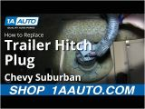 2006 Chevy 2500hd Trailer Wiring Diagram How to Replace Trailer Hitch Plug 00 14 Chevy Suburban 1500