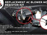 2006 Chevy Silverado Blower Motor Resistor Wiring Diagram Amazon Com Ac Blower Motor Resistor Kit with Harness Replaces