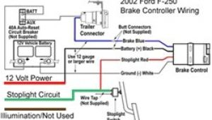2006 ford F250 Trailer Brake Controller Wiring Diagram Wire Diagram for Installing A Voyager Brake Controller On A