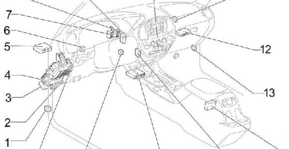2006 toyota Tundra Double Cab Wiring Diagram 04 06 toyota Tundra Double Cab Fuse Diagram