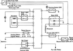 2007 toyota Tacoma Wiring Diagram toyota Cruise Control Diagram Blog Wiring Diagram