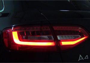 2009 Audi A4 B8 Led Headlights Audi A4 B8 Avant Lampy Tya Neon Led Zamontowane W Przedlifcie