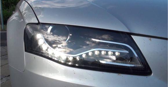 2009 Audi A4 B8 Led Headlights Change or Remove Headlights On A Audi A4 B8 Youtube