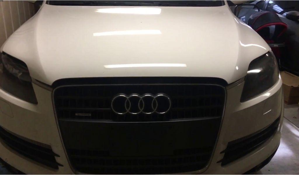 2009 Audi A4 B8 Led Headlights How To Headlight Bulb Change Audi Q7