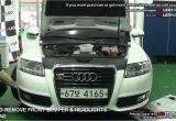 2009 Audi A4 Headlights Howto Remove Front Bumper Headlights Audi A6 I I E A6e I I E