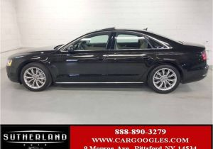 2015 Audi A8 Quattro Msrp 2014 Used Audi A8 4dr Sedan 3 0t at Sutherland Service Center