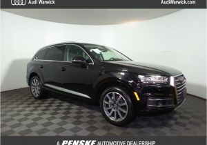 2018 Audi 3rd Row Suv 2018 New Audi Q7 3 0 Tfsi Premium Plus at Penske Automotive Rhode