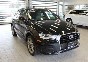 2018 Audi 3rd Row Suv Used 2017 Audi Q3 for Sale Bellingham Wa Vin Wa1jccfs6hr003847