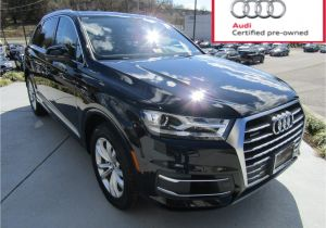 2018 Audi 3rd Row Suv Used 2017 Audi Q7 for Sale Christiansburg Va