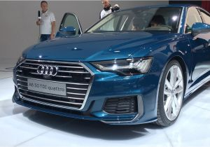 2018 Audi A6 Colors New 2019 Audi A6 Revealed Mild Hybrid and High Tech All Over