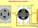 220 Volt Receptacle Wiring Diagram Dryer Wall socket Wiring Diagram Wiring Diagram Note