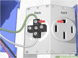 220v Light Switch Wiring Diagram How to Wire A 220 Outlet with Pictures Wikihow